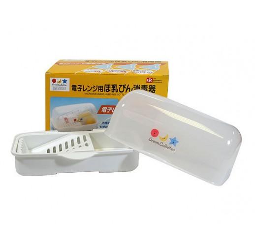 #Microwavable nursing bottle sterilizer LEC Dream Collection Made in Japan