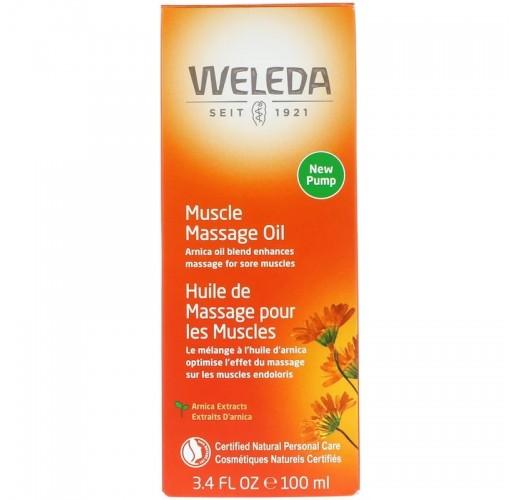 Weleda-Muscle Massage Oil-Arnica 100ml